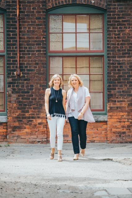 """""""I had also learned to love my scars. In them I saw the strength of my conviction."""" Lori (right) with Kendra Palazzi (left)<em> (Photo: Supplied)</em>"""
