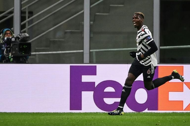 Paul Pogba scored on his return from injury as Manchester United beat AC Milan at the San Siro
