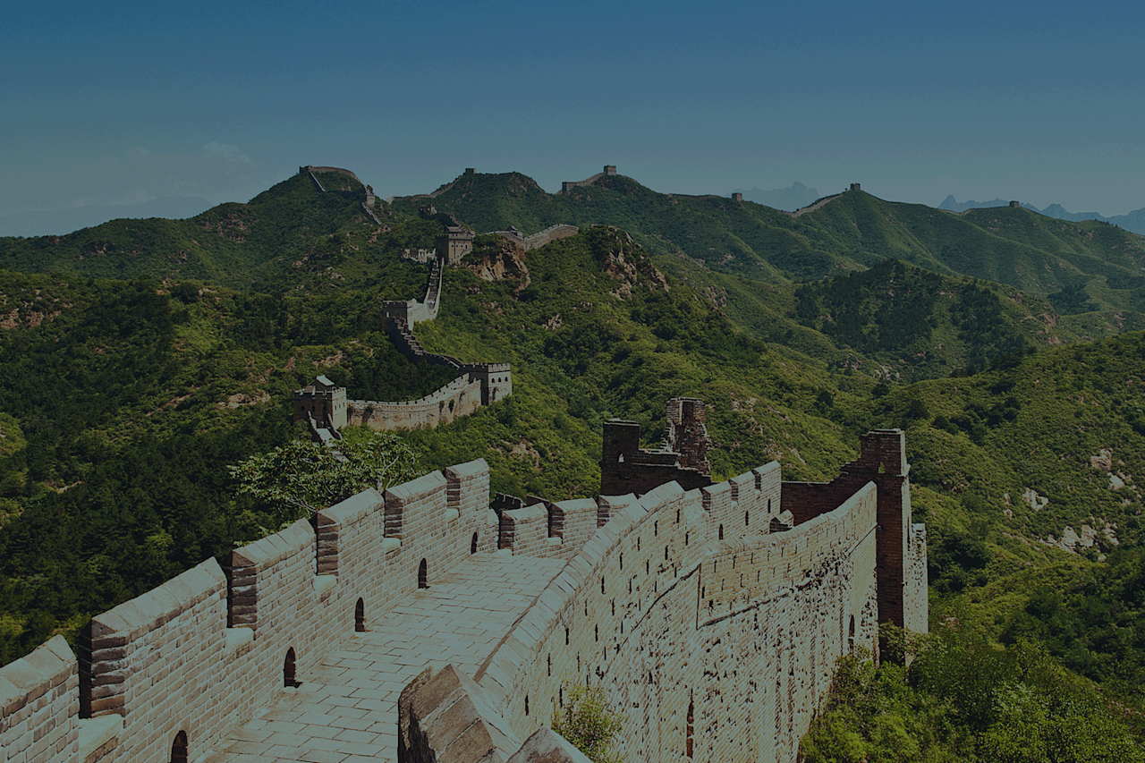 <p>Arguably the most famous wall in the world, and definitely the longest. The epic Great Wall of China at an incredible 21,196 kilometres long you won't be able to concur all of it but you can definitely explore a lot of the ancient defensive architecture. [Photo: Contiki] </p>