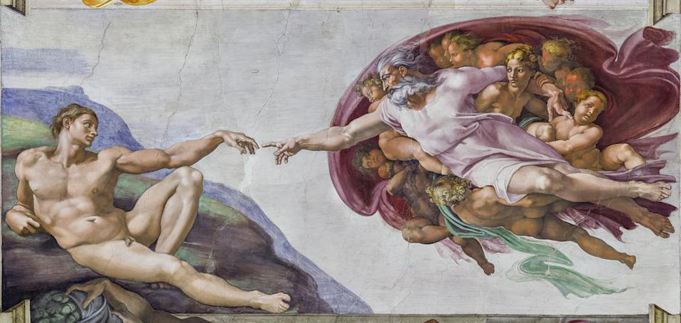 The Creation of Adam by Michelangelo - detail© Musei Vaticani