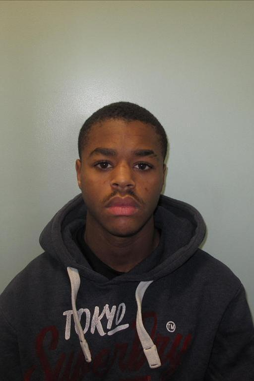 Shaquille Badley-Allen has been jailed for 11 years for the attack (Met Police)