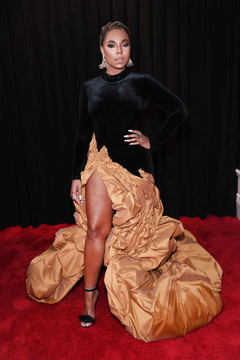 THAT IS A COMFORTER, ASHANTI.