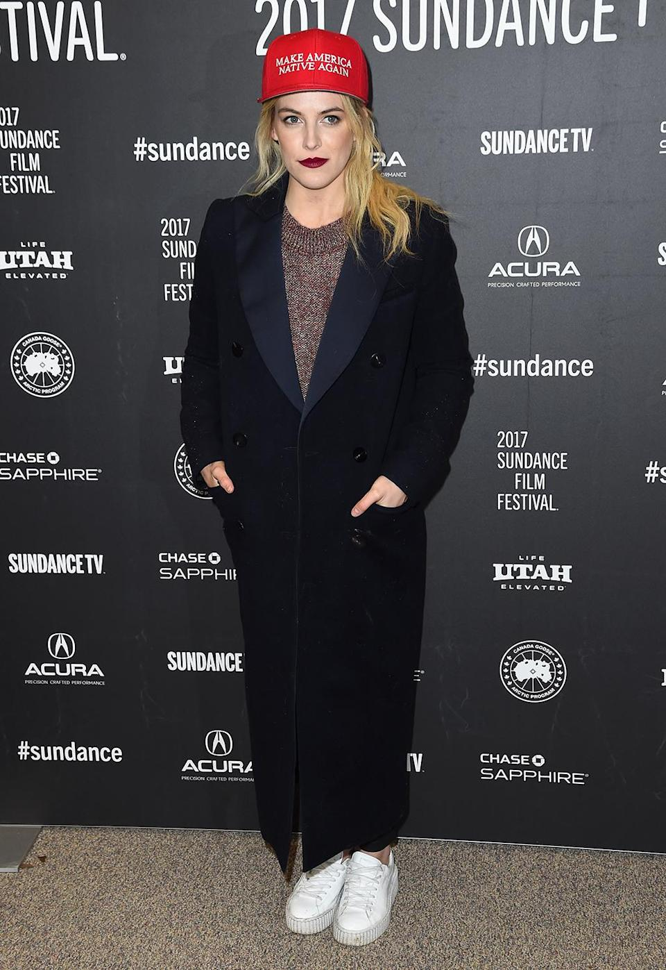 <p>The young actress is on hand for 'The Discovery' premiere. (Photo: Nicholas Hunt/Getty Images) </p>