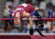 USA's Sam Grewe won gold in the men's high jump T63 (AFP/Simon BRUTY)