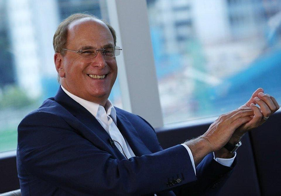 """Larry Fink, BlackRock's chairman and CEO, has said the Chinese market represents a """"significant opportunity"""" for global investors. Photo: Jonathan Wong"""