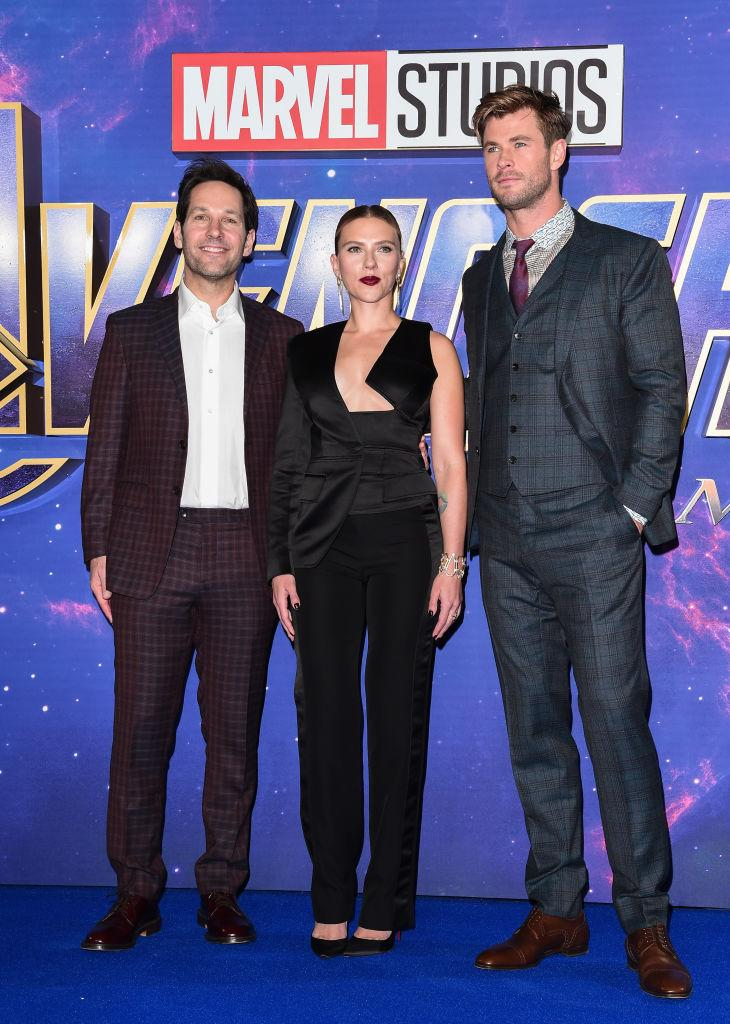 """""""Avengers: Endgame"""" stars Avengers: Endgame stars Paul Rudd, Scarlett Johansson and Chris Hemsworth would certainly approve of the latest routine from Walden Grove High School's PAC Dance Team. (Photo: Eamonn M. McCormack/Getty Images for Disney) Rudd, Scarlett Johansson and Chris Hemsworth would certainly approve of the latest routine from Walden Grove High School's PAC Dance Team. (Photo: Eamonn M. McCormack/Getty Images for Disney)"""