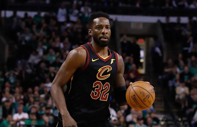 "<a class=""link rapid-noclick-resp"" href=""/nba/players/4247/"" data-ylk=""slk:Jeff Green"">Jeff Green</a> averaged 10.8 points and 3.2 rebounds in 78 games for the Cavs last season. (AP)"