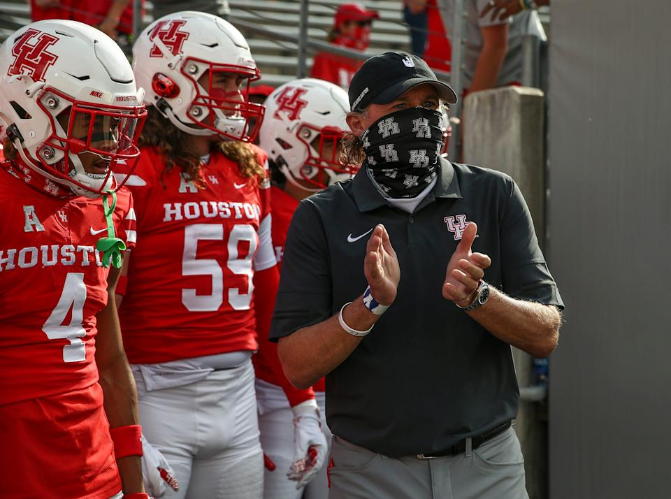 Could coach Dana Holgorsen and the Houston Cougars make a move to the Big 12?