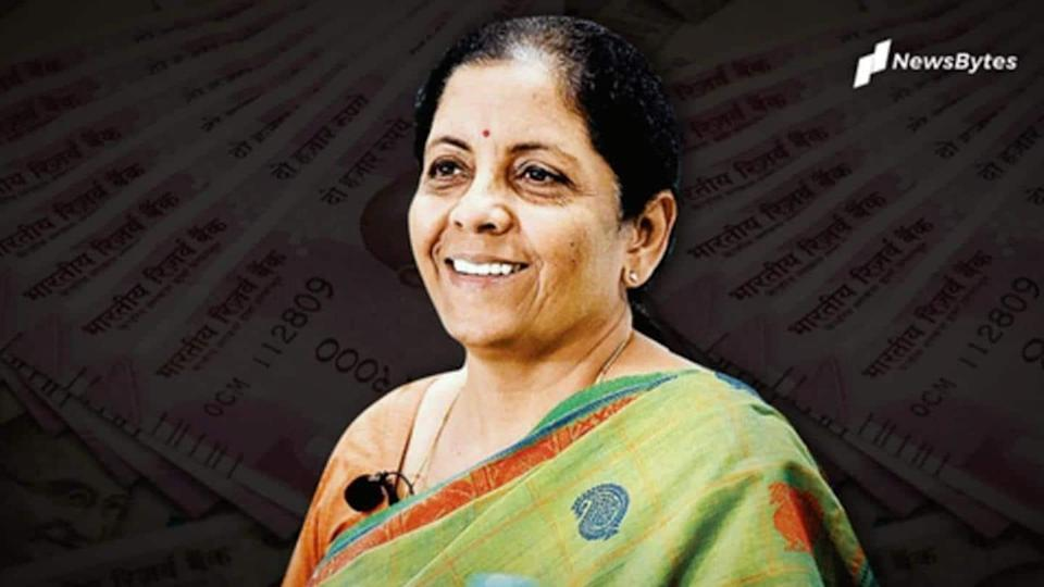 Sitharaman tables Economic Survey; FY22 GDP growth pegged at 11%