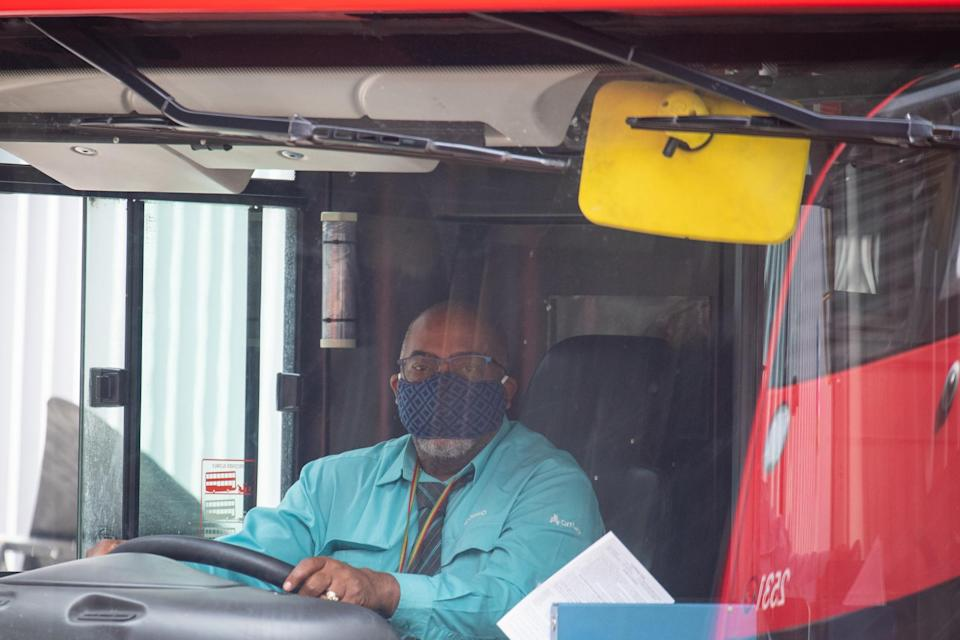 First Bus drivers will begin to count passengers to ensure the service runs with reduced occupancy: PA