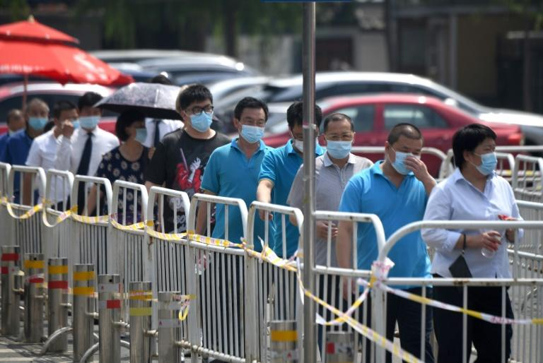 Beijing imposed lockdowns in parts of the capital over a fresh coronavirus outbreak last month, and carried out mass testing