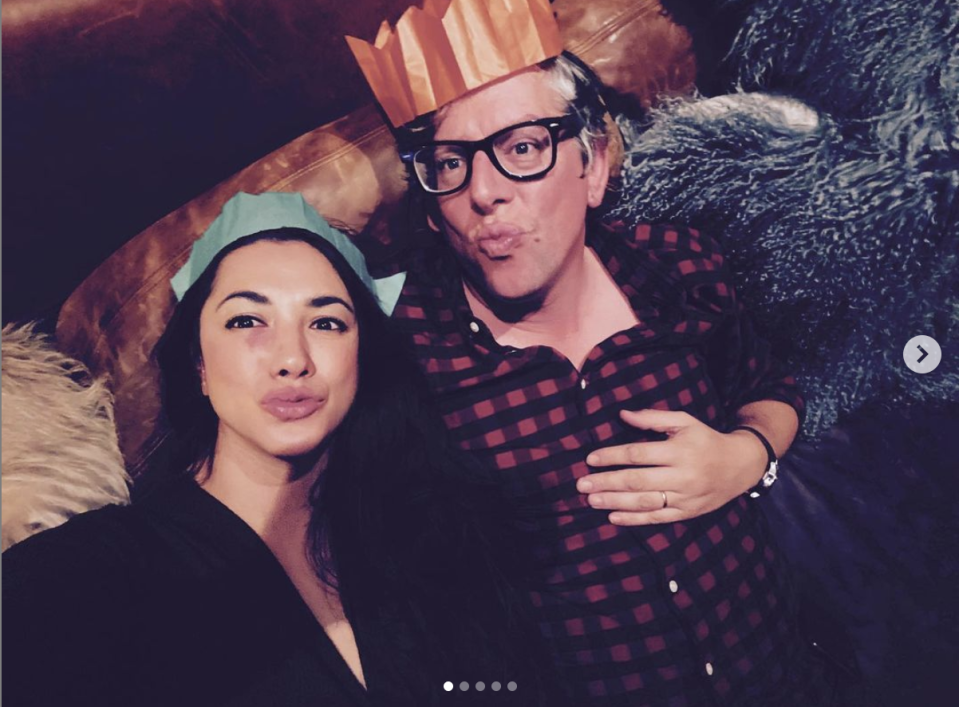 Michelle Branch, depicted with husband Patrick Carney, announced that she suffered a miscarriage in December.  (Photo: Instagram/MichelleBranch)