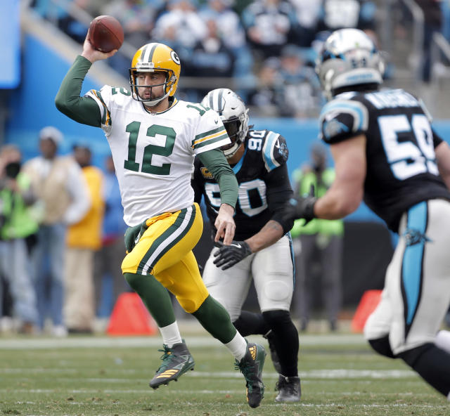The Green Bay Packers placed QB Aaron Rodgers on season-ending injured reserve on Tuesday, a day after they were eliminated from the playoffs. (AP)