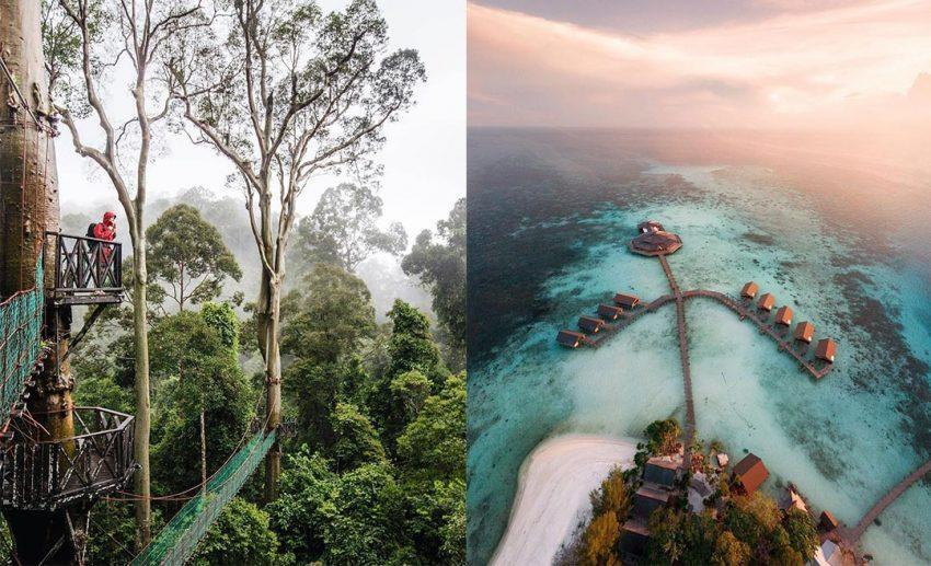 Support preservation through ethical travel. Here are 14 hidden gems throughout Malaysia that you can explore for flora, fauna, and then some.