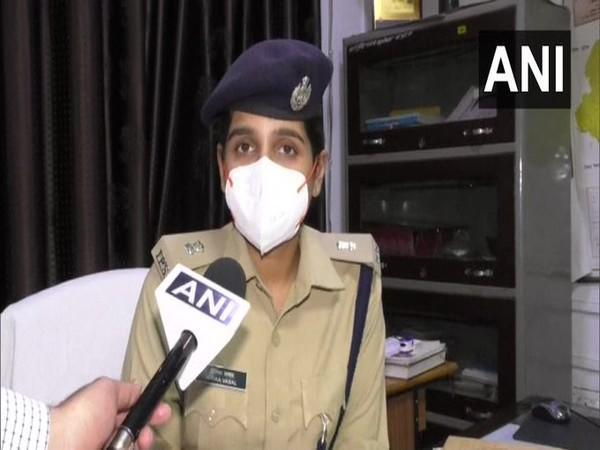 Gwalior Additional SP Hitika Vasal in conversation with ANI. (Photo/ANI)