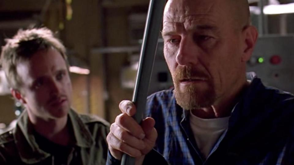 <p> <strong>Non-Netflix show available in UK/US</strong> </p> <p> Breaking Bad remains one of the best TV shows to emerge in recent years. The killer premise of a chemistry teacher-turned-meth dealer spins out of control across five seasons, as the teacher in question, Walter White, slowly transforms from nice guy to antihero. All the while he hides his illegal shenanigans from his family, making for a slow bubbling tension throughout the entire series.&#xA0; </p> <p> Just when you think the stakes can&apos;t get raised any higher, Mr. White steps up his game, taking his quest to ever-crazy heights of excess. His quietly simmering rage is spectacular to watch thanks to a nuanced turn from Bryan Cranston, who manages to make White an incredibly compelling character. </p>