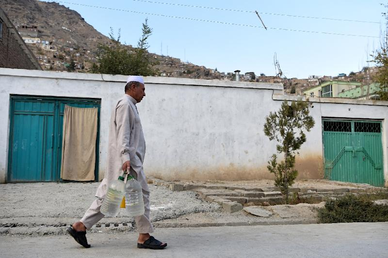 Kabul's population is expected to reach eight million by 2050, according to a report published in the Washington-based SAIS Review of International Affairs in 2017 (AFP Photo/WAKIL KOHSAR)