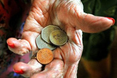 Old hands with money