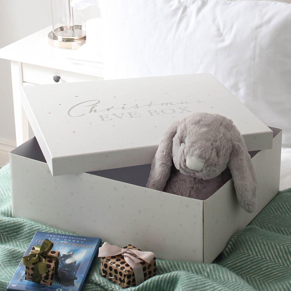 Fill this cardboard one from Marquis & Dawe with fluffy treats for your little one [Image: Marquis & Dawe]