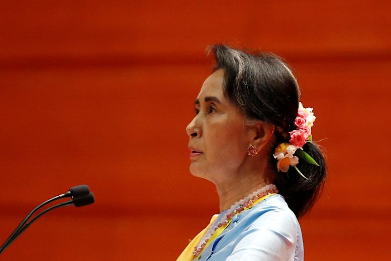 Aung San Suu Kyi has remained tight-lipped about the state-sanctioned massacre of Rohingya Muslims in Myanmar's Rakhine State.