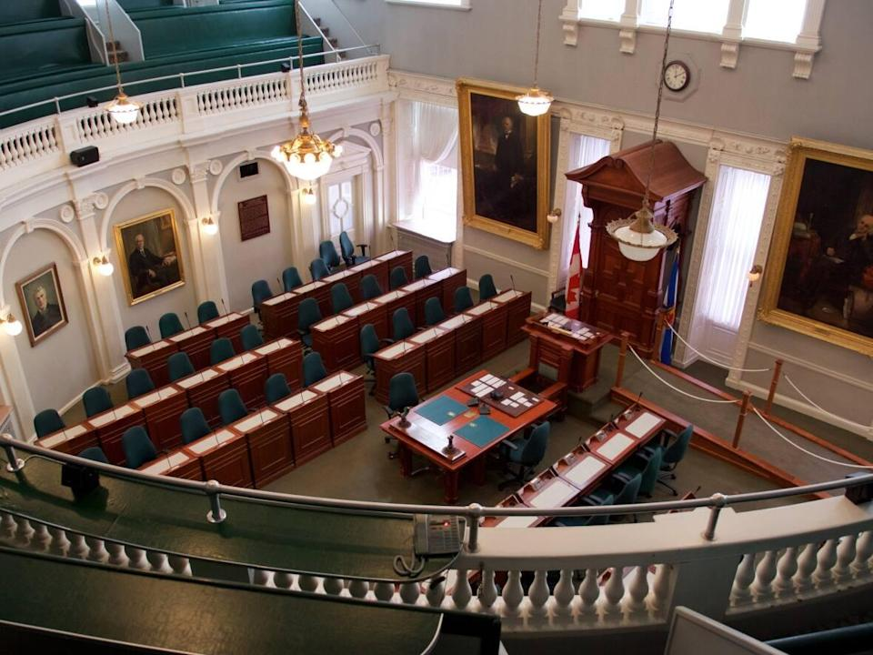 The chamber of the Nova Scotia House of Assembly is seen in this file photo. The fall sitting of the legislature begins today. (Robert Short/CBC - image credit)