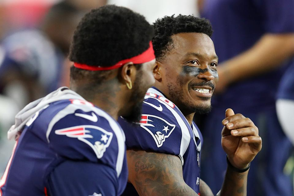 The New England Patriots traded receiver Demaryius Thomas to the New York Jets on Tuesday. (Getty Images)