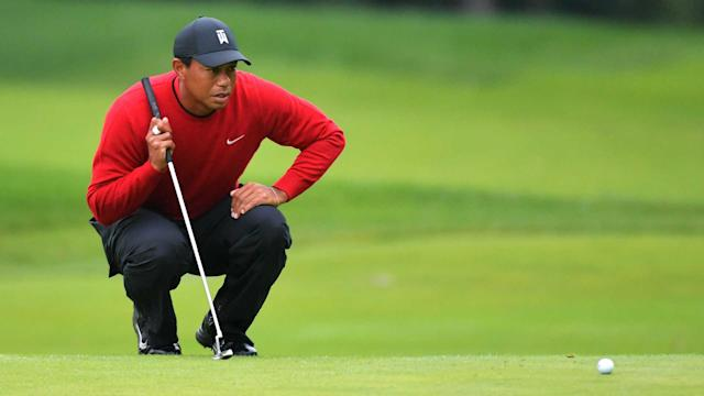 Tiger Woods hung around the top of the leaderboard once again, but couldn't close. (Getty)