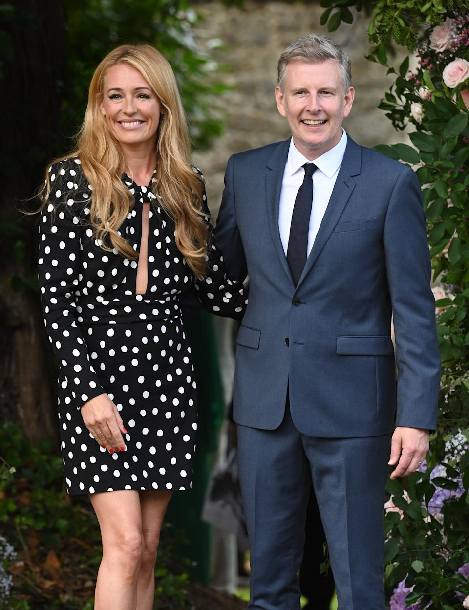 The star this week celebrated her ninth wedding anniversary with husband Patrick Kielty. (Getty Images)