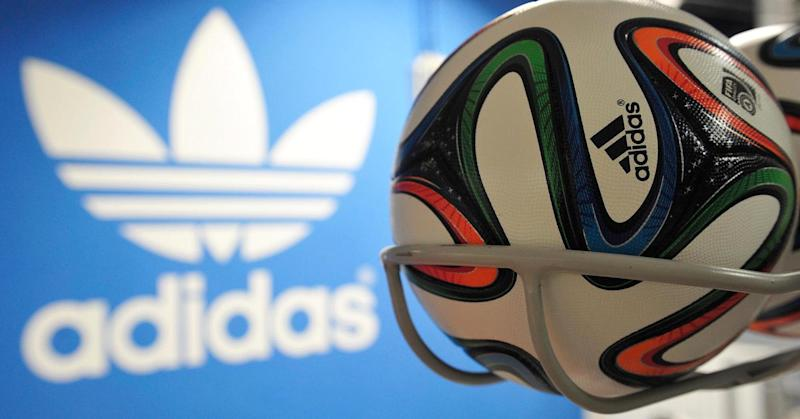 Adidas shares plunge 13% after Russia warning