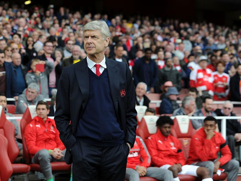 Wenger endured another turbulent afternoon at the Emirates: Getty