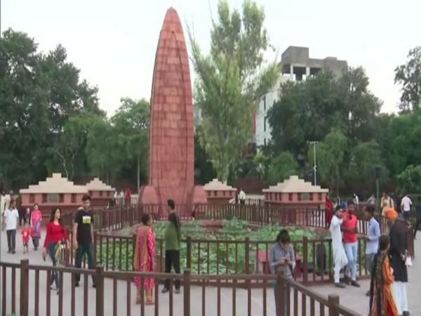 Tourists at the newly renovated Jallianwala Bagh. (Photos/ANI)