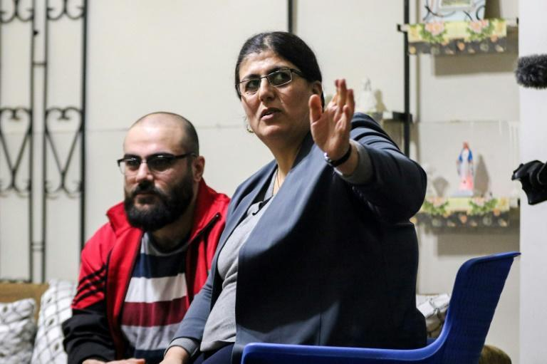 Dalia Youssef and her son Haval are hoping to start a new life in Australia after being granted the right to emigrate following a long five-year wait