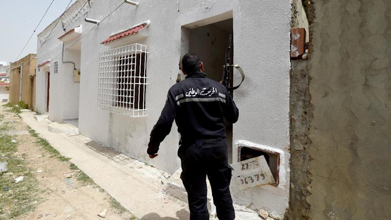 Tunisia says three militants killed after fatal stabbing of officer in Sousse