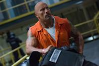 <p>The news that Dwayne Johnson will shoot Disney's 'Jungle Cruise' in spring 2018 adds yet another project to the wrestler-turned-actor's busy schedule. Next up is of course 'Fast & Furious 8,' opening this Wednesday 12 April, in which Johnson reprises the role of Agent Luke Hobbs. Vin Diesel feud notwithstanding, it seems likely Johnson will return in the planned ninth and tenth films that will end the 'F&F' series, and there's also been talk of a Hobbs solo movie. (Picture credit: Universal) </p>
