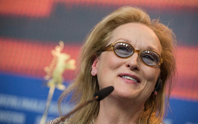 US actress Meryl Streep is president of the jury at this year's Berlinale film festival