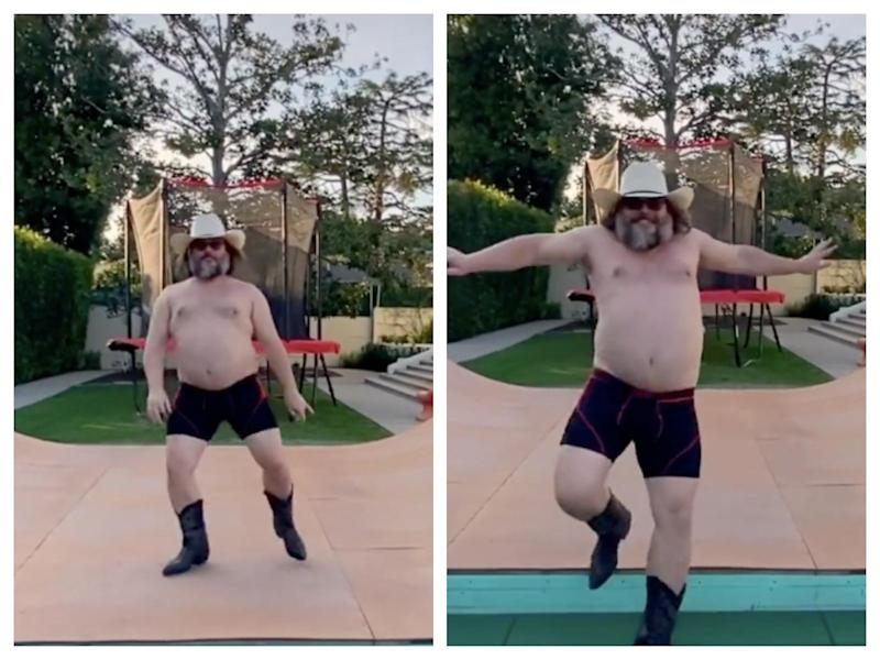 Jack Black dancing on TikTok: TikTok/@jackblack