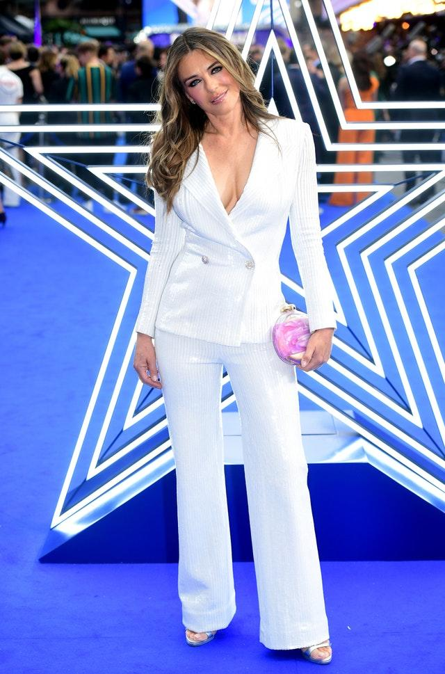 Elizabeth Hurley at the Rocketman UK Premiere – London