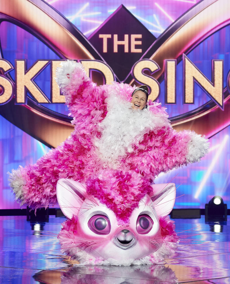 Lady Julia Morris on The Masked Singer 2020