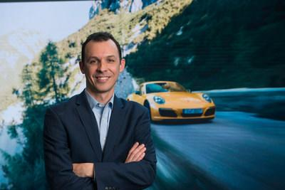 Frank Wiesmann will lead product, motorsport and brand heritage communications in the U.S. (PRNewsfoto/Porsche Cars North America, Inc.)