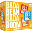 <p>Crunchy and addictive, these <span>Enlightened Bada Bean Bada Boom Roasted Broad (Fava) Bean Snacks</span> ($18 for 24) are so delicious and tough to put down.</p>