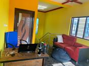 Turn one corner of home into make-shift office Photo credit: Satish Kumar N