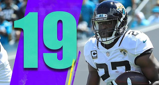 <p>This seems like a big week for the Jaguars. If they can get Leonard Fournette back and win at the Colts, they would be 4-5 and likely favored to win five of their next six games before going to Houston in Week 17. (Leonard Fournette) </p>