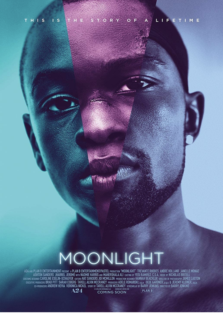 """<p>Chiron (Trevante Rhodes) struggles with his identity growing up in Miami, navigating his Blackness and his sexuality as he falls for his best friend Kevin (Andre Holland) in this Oscar-winning film.</p><p><a class=""""link rapid-noclick-resp"""" href=""""https://www.amazon.com/Moonlight-Mahershala-Ali/dp/B01MU9CMGJ?tag=syn-yahoo-20&ascsubtag=%5Bartid%7C10063.g.35083114%5Bsrc%7Cyahoo-us"""" rel=""""nofollow noopener"""" target=""""_blank"""" data-ylk=""""slk:STREAM IT HERE"""">STREAM IT HERE</a></p>"""