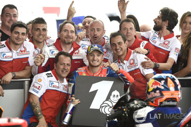 "2018: milagrosa primera pole de Jack Miller, Pramac Racing <span class=""copyright"">Gold and Goose / Motorsport Images</span>"