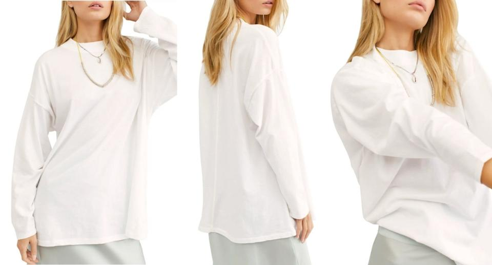 We the Free by Free People Be Free Tunic T-Shirt  - Nordstrom