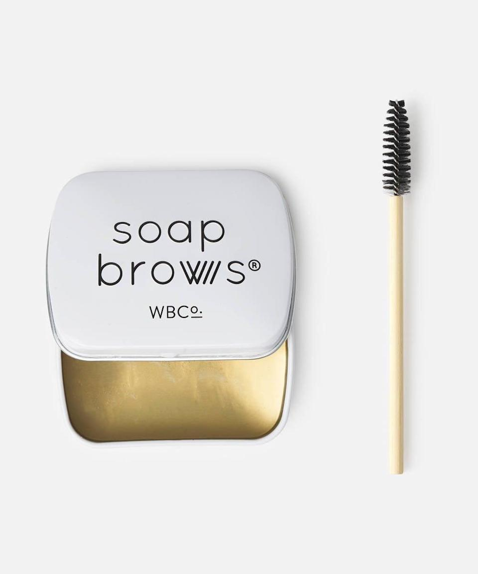 """<br><br><strong>West Barn Co.</strong> Soap Brows, $, available at <a href=""""https://www.beautybay.com/p/west-barn-co/soap-brows/"""" rel=""""nofollow noopener"""" target=""""_blank"""" data-ylk=""""slk:Beauty Bay"""" class=""""link rapid-noclick-resp"""">Beauty Bay</a>"""