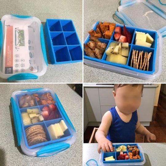This $5 bento box hack is great for kids of all ages. Photo: Instagram/reve.ever
