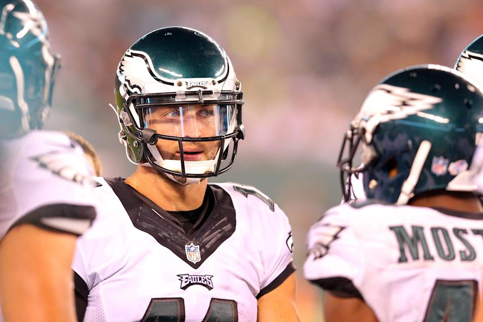 Tim Tebow appeared in a preseason game with the Eagles in 2015.