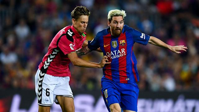 Marcos Llorente has designs on establishing himself at Real Madrid having impressed on loan at Alaves and would not be tempted by Barcelona.