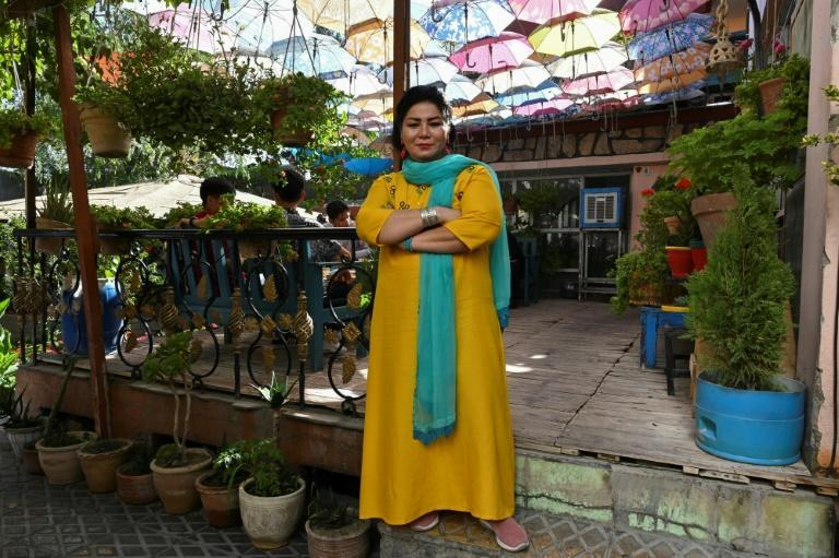 The founder of a rehabilitation centre for drug addicts, Haidari says many of her social activist friends have already quit the country